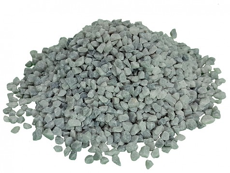 Washed and Dried Snow Grey Gravel