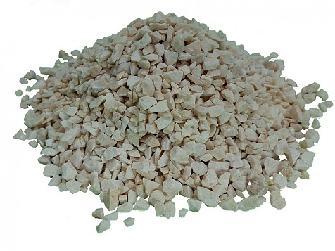 Washed and Dried Ivory Cream Gravel