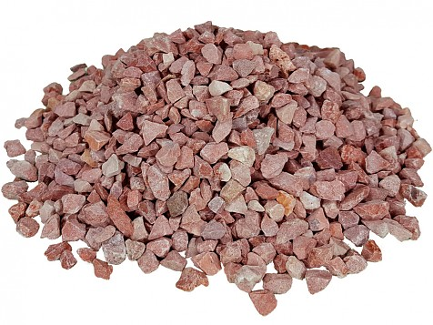 Washed and Dried Red Gravel