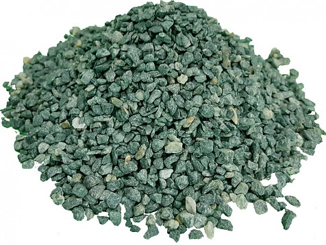 Washed and Dried Green Gravel