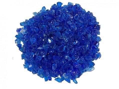 Vidrio Triturado Azul