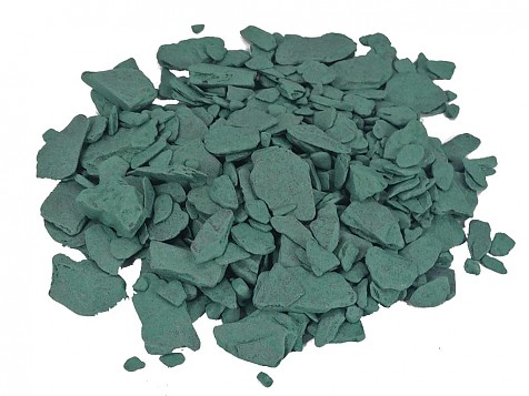 Green Slate Crushed