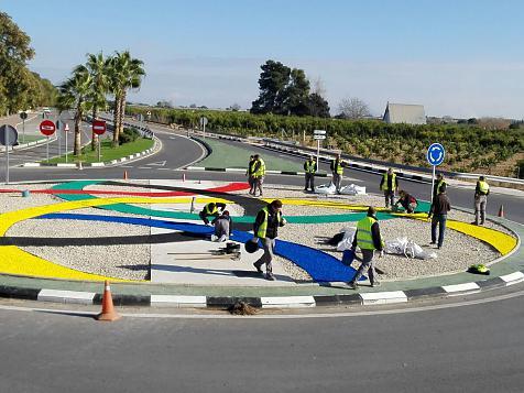 Roundabout Algemesi Occupational Workshop