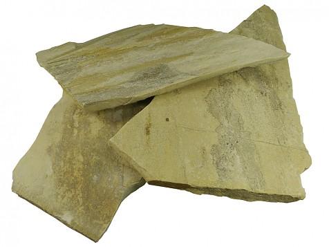 Opus incertum quartzite jaune