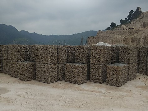 Wall Vibrated Gabion