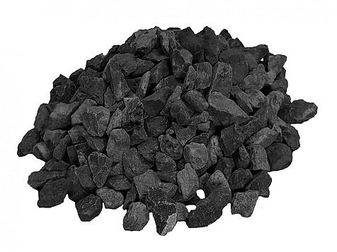 Grava Negra Decorativa